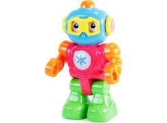Robot barevný opakující, se světlem a zvukem