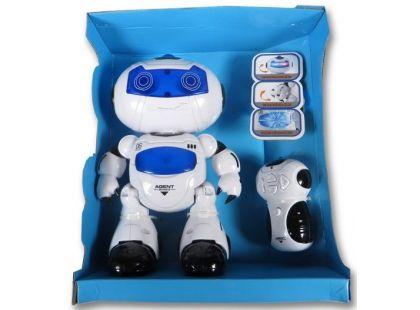Robot na dálkové ovládání se světlem a zvukem