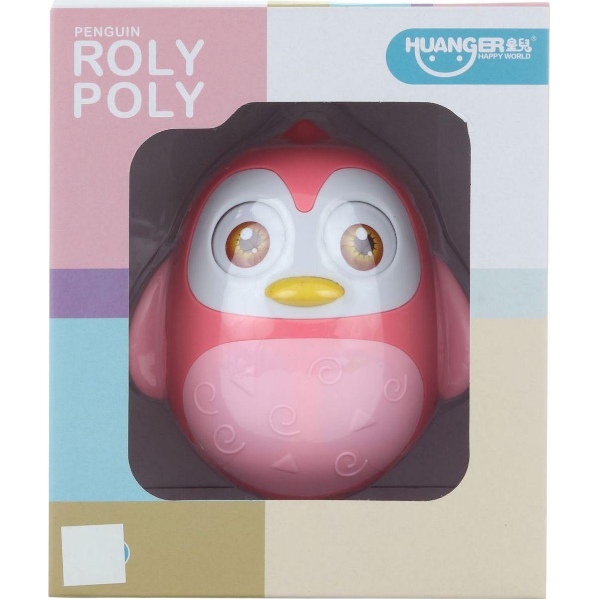 Rolly-polly růžové