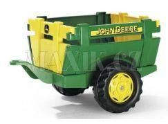 Rolly Toys Farm Trailer JD vlečka za šlapací traktor