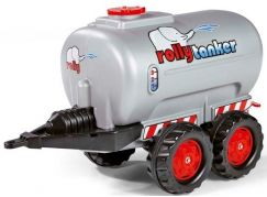 Rolly Toys tanker dvouosý - stříbrný