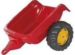 Rolly Toys Vlečka za traktor jednoosá - červená