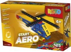 Roto 14003 Začni s Rotem vrtulník - 125 dílků