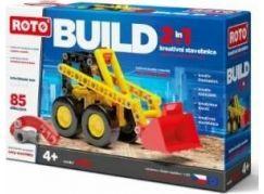 Roto 2v1 14014 Buldozer 85 dílků