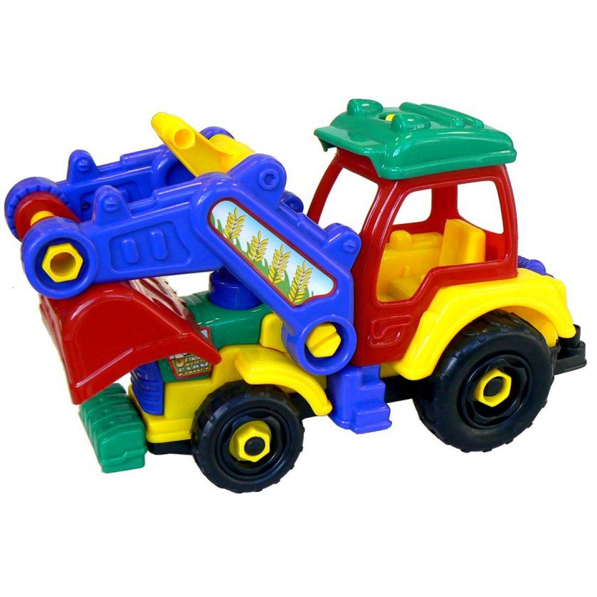 Šroubovací traktor
