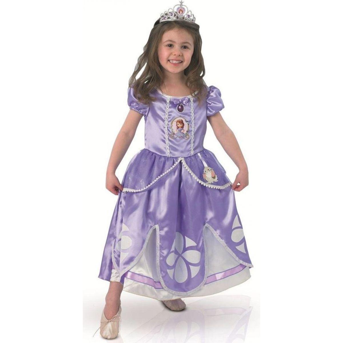 Rubie's Disney Kostým Sofie Deluxe vel. M