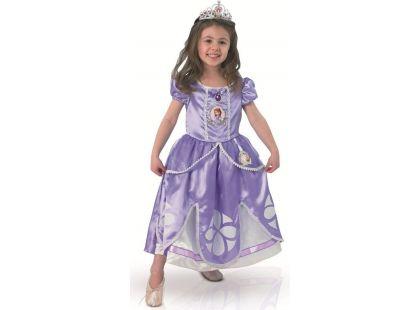 Rubie's Disney Kostým Sofie Deluxe vel. XS