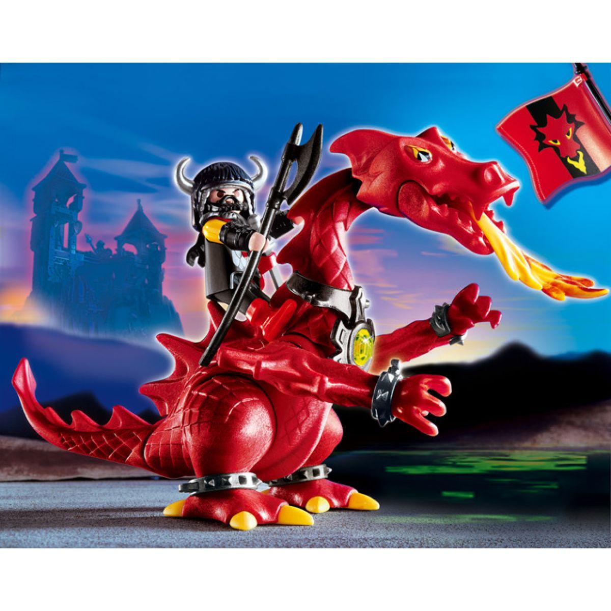 Rudý drak Playmobil