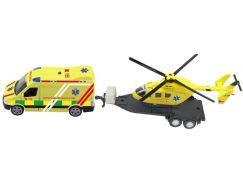 Sada ambulance vrtulník se světlem a zvukem