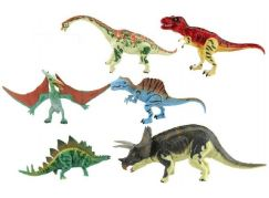 Sada Dinosaurus hýbající se