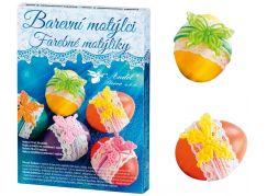 Sada k dekorování vajíček - barevní motýlci