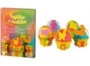 Sada k dekorování vajíček - vajíčka v košíčku