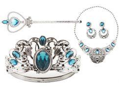 Sada krásy velká s plastovou korunkou a náhrdelníkem s naušnicemi