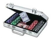 Sada na poker v kufříku