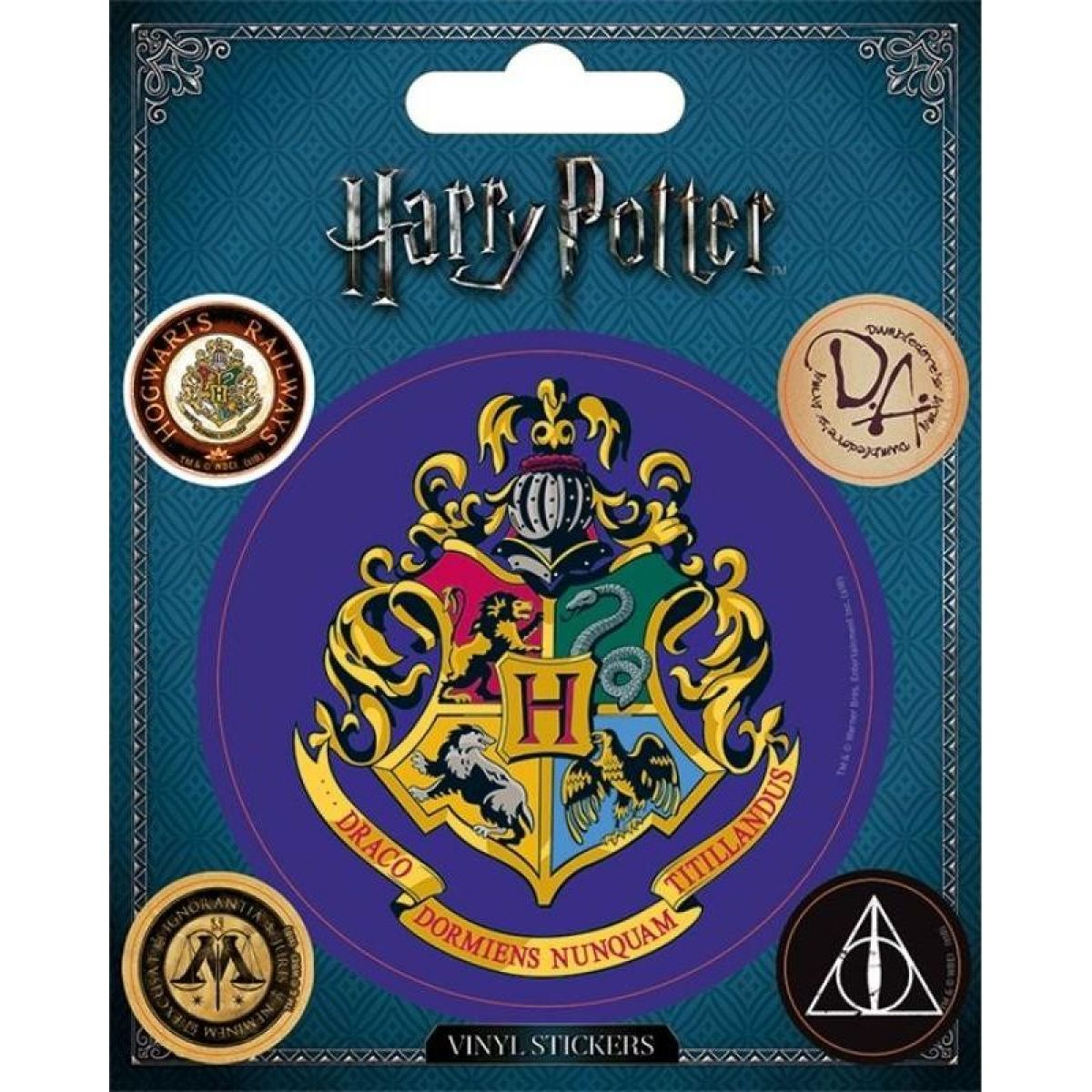 Sada samolepek Harry Potter Bradavice