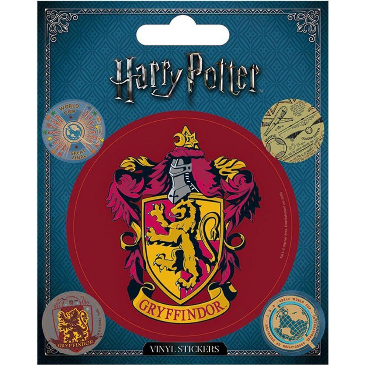 Sada samolepek Harry Potter Nebelvír