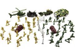 Sada vojáci s doplňky plast CZ design 1348