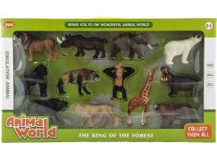 Sada zvířátek safari ZOO 12ks