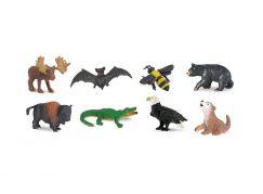 Safari Ltd Divoká Amerika - Good Luck Minis Funpack