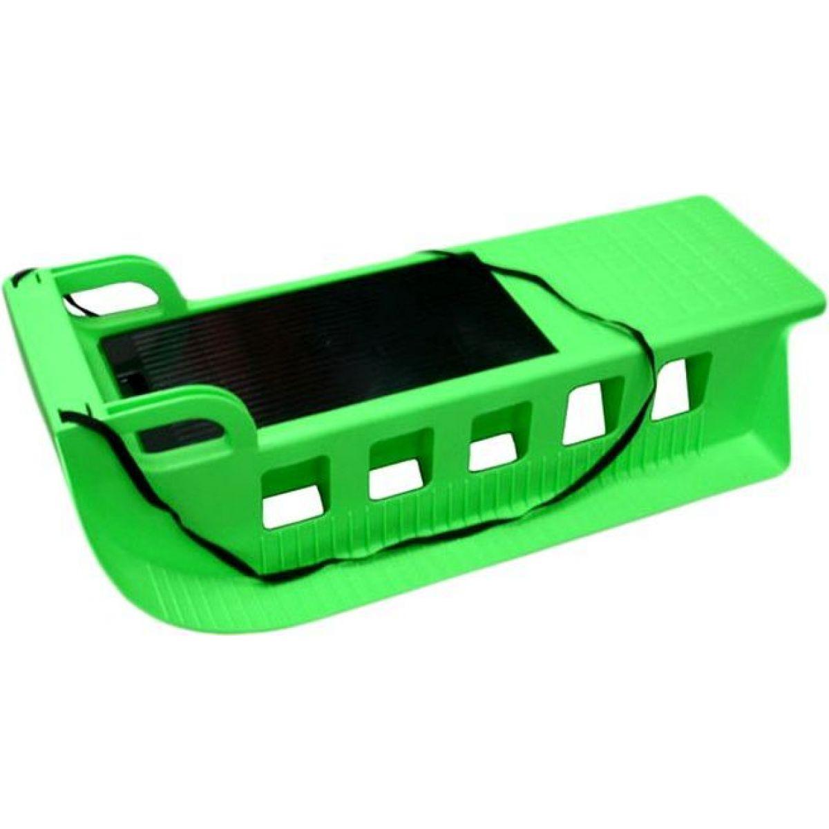Saně plastové KAMZÍK - Zelená