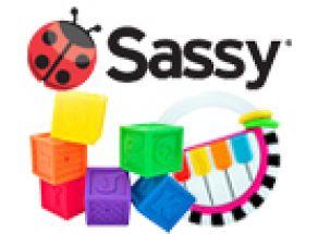 Sassy hračky pro nejmenší z USA