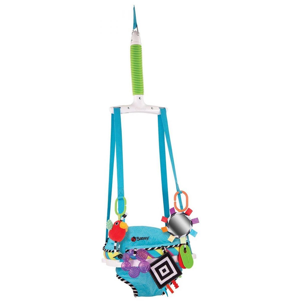 Sassy Skákadlo Doorway Jumper s hračkami