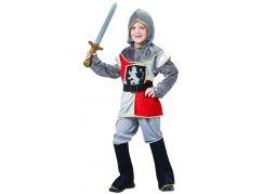 Šaty na karneval 9498 rytíř 110 - 120 cm