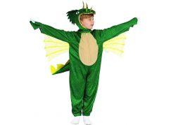 Šaty na karneval dinosaurus 80 - 92 cm
