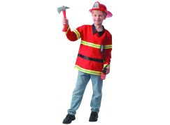 Šaty na karneval hasič 120- 130 cm