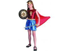 Šaty na karneval hrdinka 120 - 130 cm