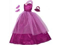 Šaty pro panenku Steffi fialové