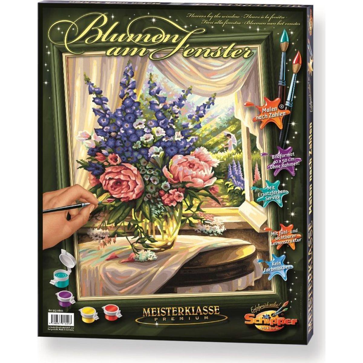 Schipper Květiny u okna Premium 40x50cm