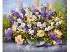 Schipper Letní květiny Premium 40x50cm 2