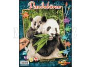 Schipper Panda s mládětem Classics 24x30cm
