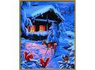Schipper Romantická zimní noc Premium 40x50cm 3