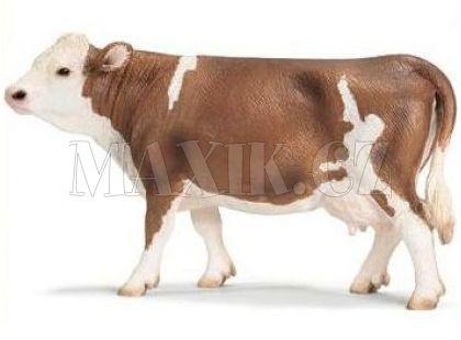 Schleich 13641 Kráva Simentálská