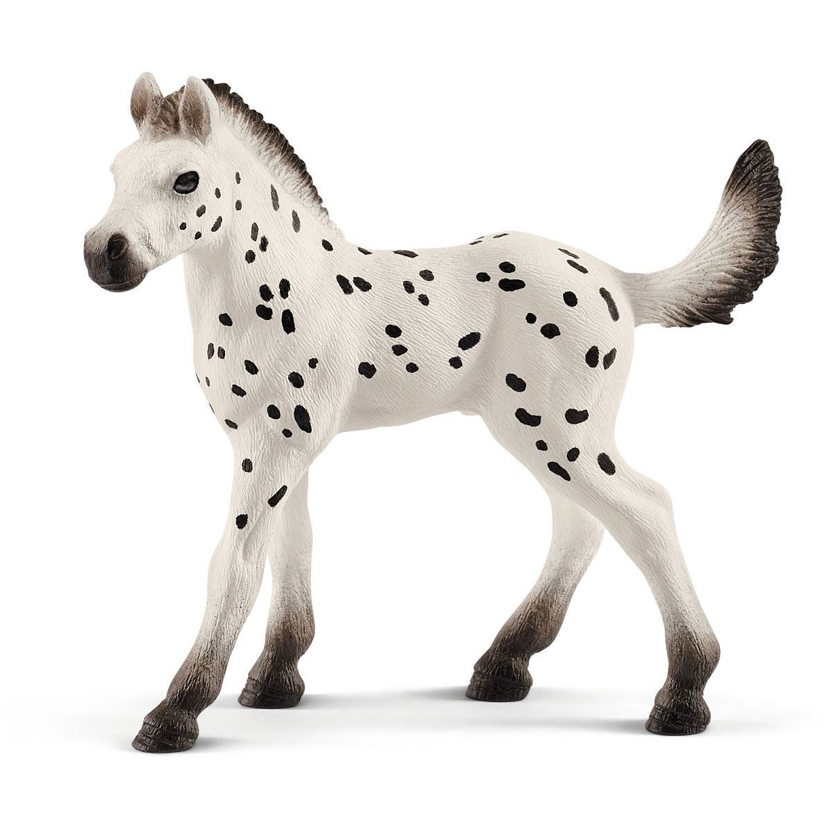 Schleich 13890 Hříbě Knabstruppského koně