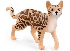 Schleich 13918 Zvířátko kočka bengálská