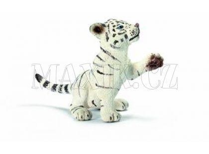 Schleich 14385 Tygr bílý tygřík hrající si