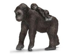 Schleich 14662 Gorila samice s mládětem