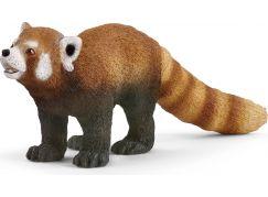 Schleich 14833 Zvířátko panda červená
