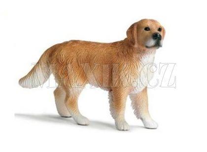 Schleich 16377 Pes Zlatý Retrívr