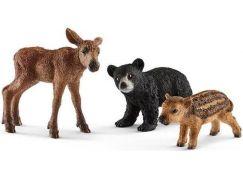 Schleich 41457 Set mláďata lesních zvířátek