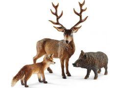 Schleich 41458 Set evropská lesní zvířátka