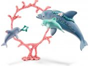 Schleich 41463 set delfín s mláďaty