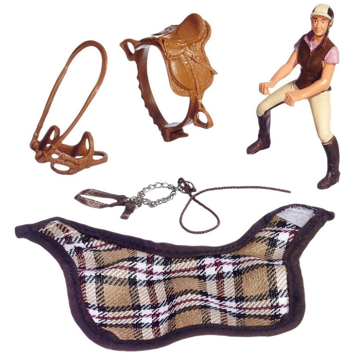 Schleich 42057 Postroj na koně s jezdkyní