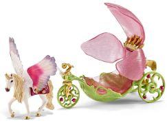 Schleich 42176 Slavnostní elfí kočár s jednorožcem