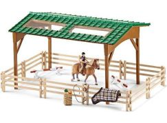 Schleich 42189 Set jezdecký areál s koněm a příslušenstvím