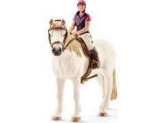 Schleich 42359 Rekreační jezdkyně na koni
