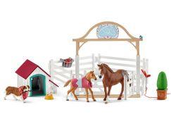 Schleich 42458 Hostující koně Hannah s fenkou Ruby
